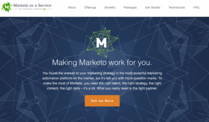 Marketo as a Service|Marketo as a Service|||Marketo as a Service Packages|